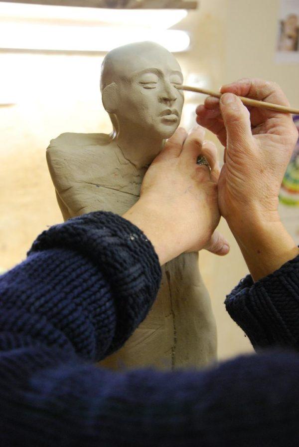 Anne Guerrin – Sculpture sur terre